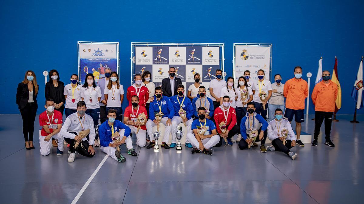La competición concluyó este sábado en el Náutico.
