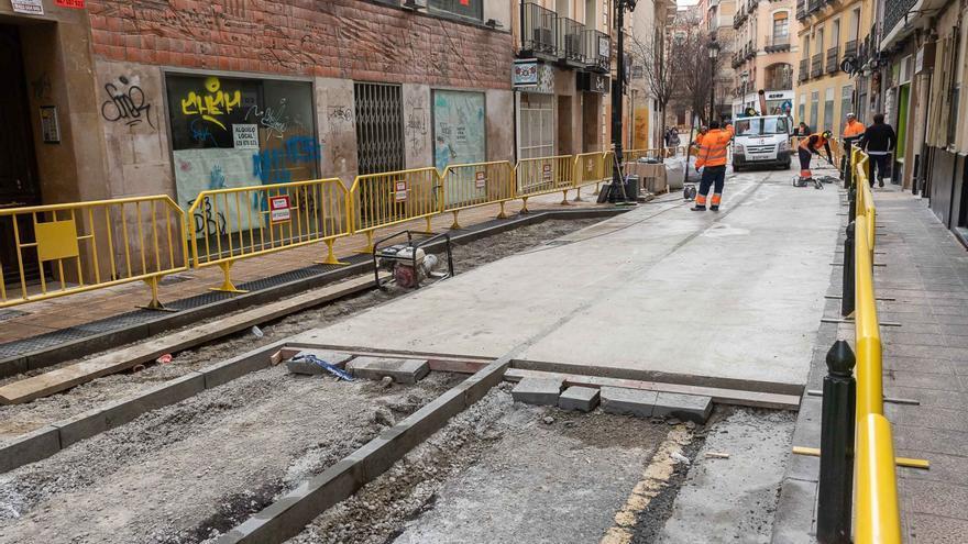 El objetivo era actuar en 40 calles del Casco Histórico zaragozano