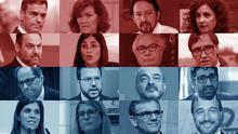 Los participantes de la Generalitat y el Gobierno en la mesa de negociación que este miércoles se reunirá en la Moncloa