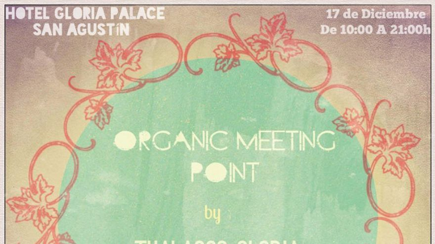 Cartel Organic Meeting Point (Canarias Ahora)
