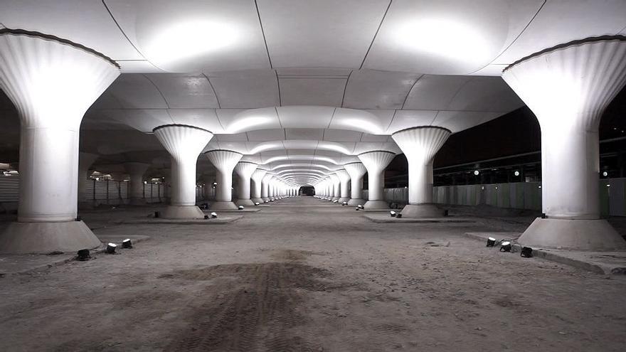 Revisión del proyecto Kinematope, cuyo origen es una intervención de Pablo Valbuena en el Gare d´Austerlitz