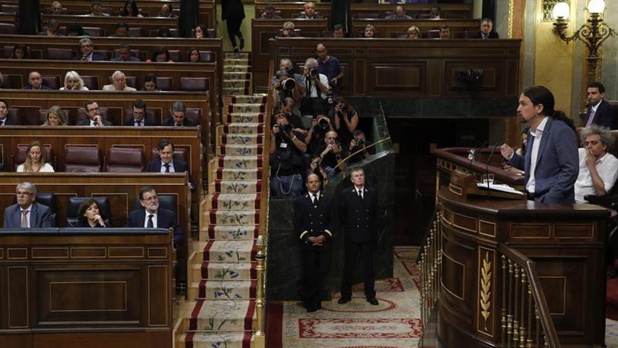 Pablo Iglesias pide al PSOE un acuerdo sin Ciudadanos para desalojar al PP