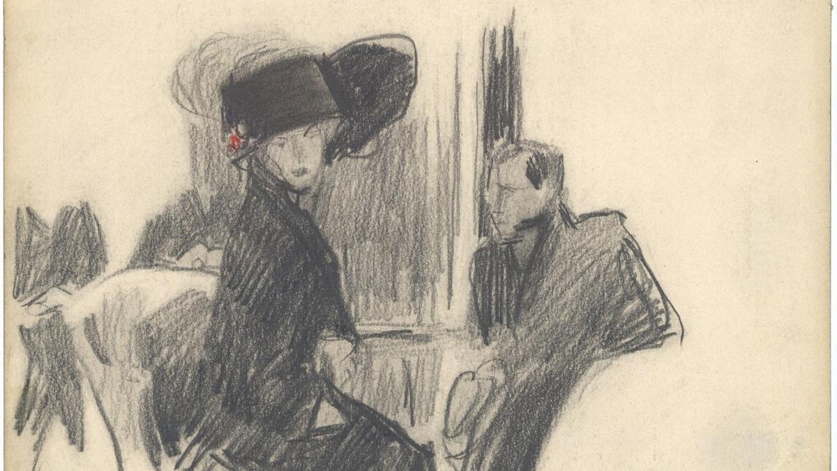 Uno de los dibujos de Sorolla que acogerá la Fundación Bancaja en su exposición.