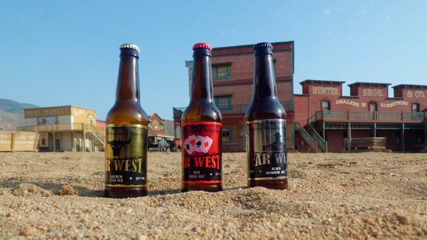 Cervezas Far West.