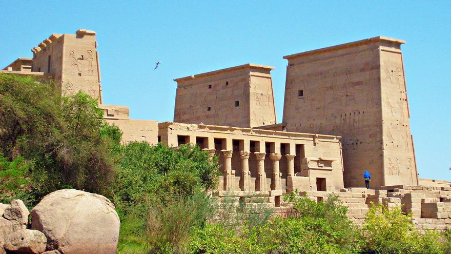 El imponente Templo de Isis, uno de los mejor conservados del Egipto faraónico. Zolakoma (CC)