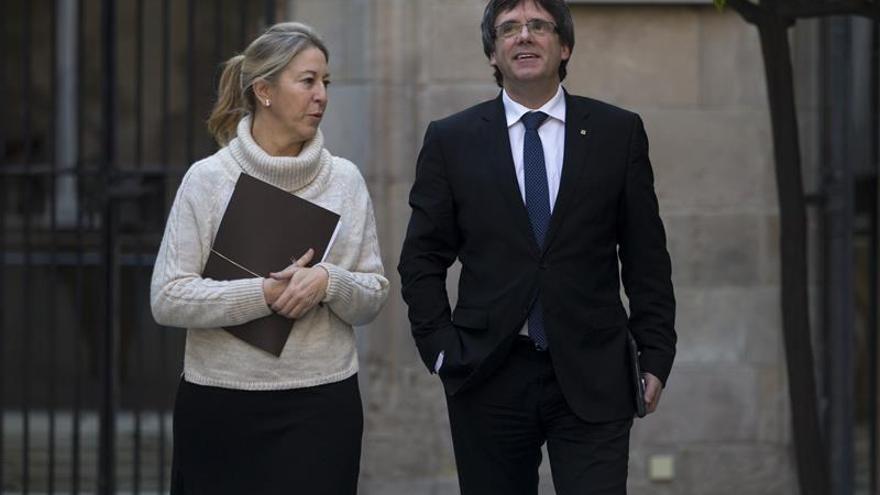 """El Govern insta a los 'comunes' a """"no rehuir"""" el compromiso del referéndum"""