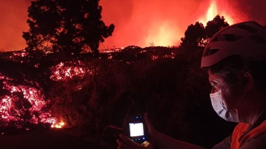 Sismógrafos, GPS y sensores de gas y agua para anticiparse al volcán de La Palma