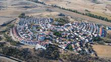 Vista aérea de Guadajira