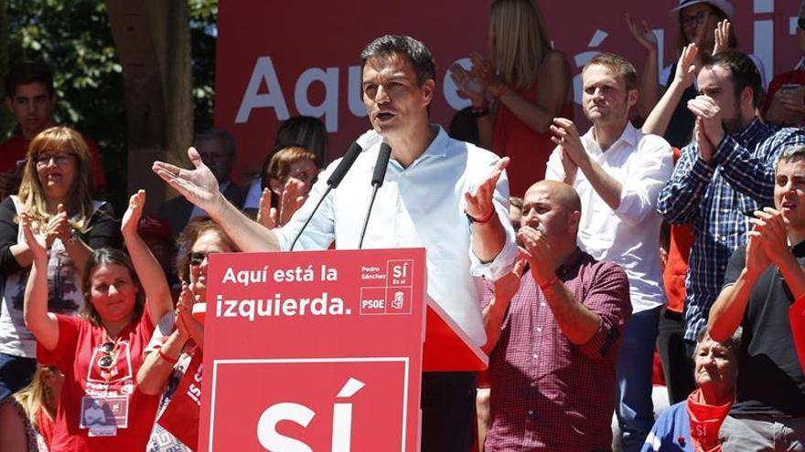 Sánchez se erige como la única figura que puede volver a unir a la izquierda