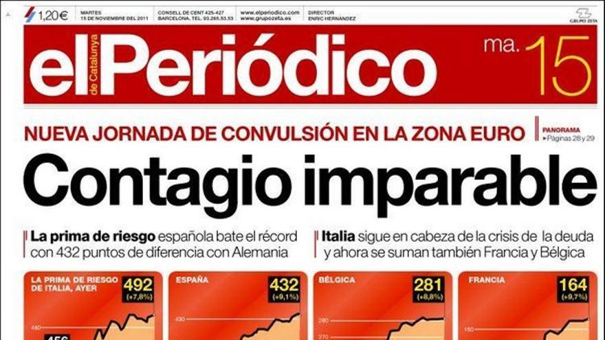 De las portadas del día (15/11/2011) #11