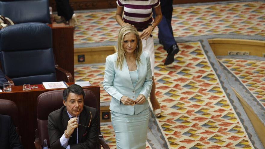 Cifuentes, portavoz del Grupo Popular en la Asamblea a falta de cerrar las negociaciones para la investidura