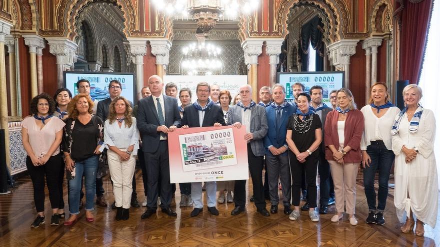 El Cupón de la ONCE del sábado recordará el 90º aniversario del Mercado de La Ribera de Bilbao