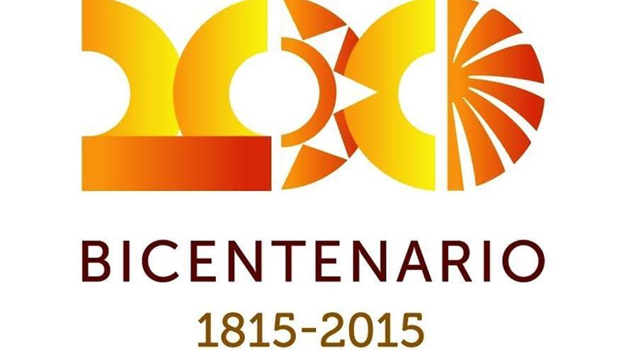 Logotipo del bicentenario de Santa Lucía