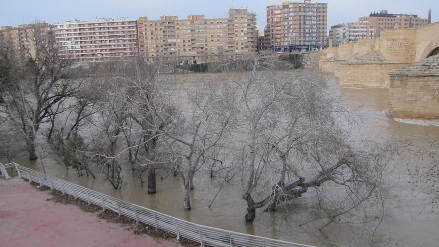UPN exige que se acondicione el cauce del Ebro para evitar nuevas inundaciones