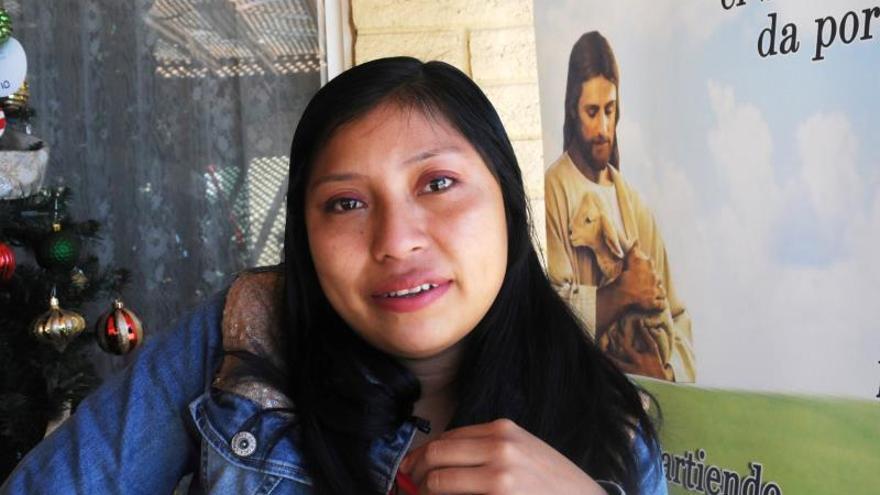 Una iglesia, el hogar de una migrante abandonada por su familia al llegar a EE.UU.
