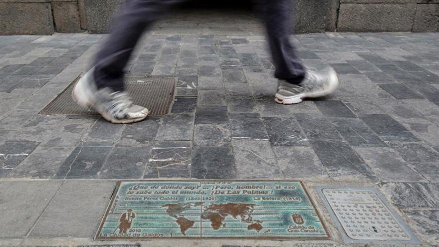 Las Palmas de Gran Canaria luce desde 2013 algunas de las citas más emblemáticas de Galdós