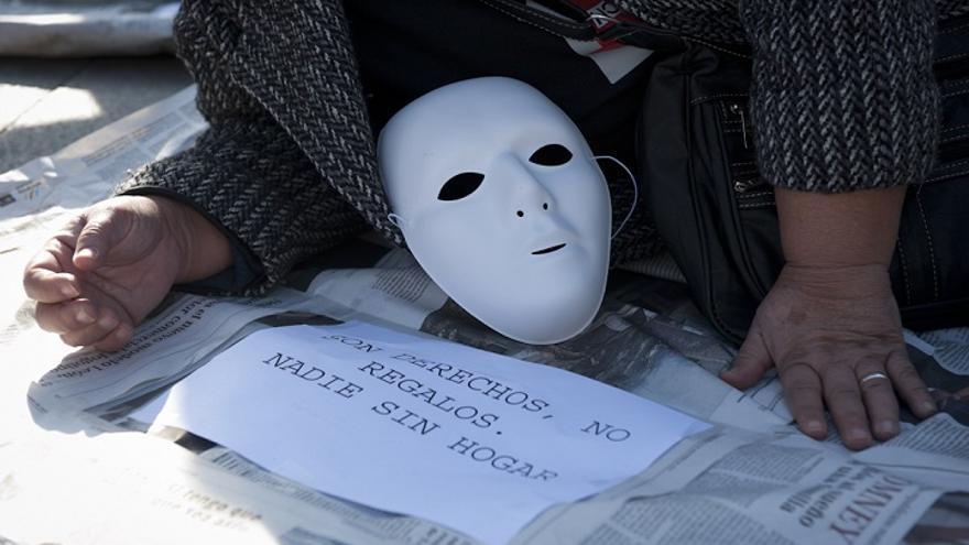Imagen de una acción de la Federación de Asociaciones de Centros para Integración y Ayuda a Marginados. / Fotografía: FACIAM