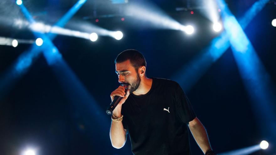 El rapero madrileño Rayden en concierto. | ANTONIO MOLINA