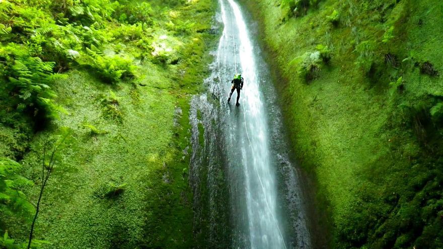 'Canyoning' en uno de los descensos más prolongados de Madeira