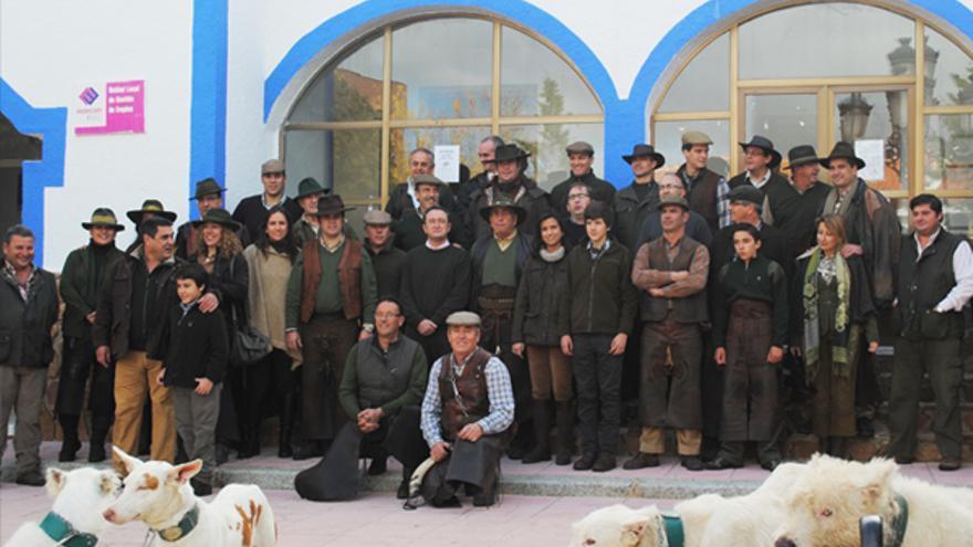 Montería tradicional a la que asistieron los Toledano y el presidente de APROCA entre otros / Foto: http://gestiondecotos.com