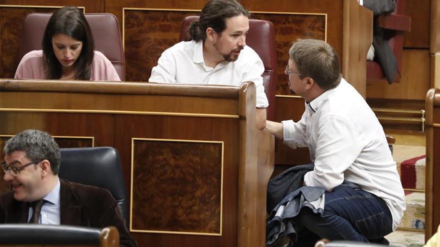 Unidos Podemos analiza hoy si participa en comisión de reforma constitucional