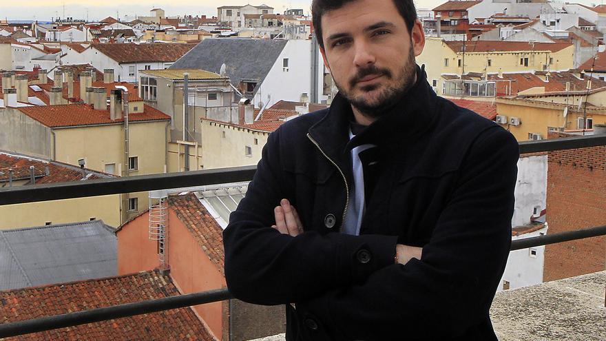 Eduardo Garzón, asesor económico del candidato de IU a la presidencia del Gobierno, Alberto Garzón, y miembro de la FEC. / Marta Jara
