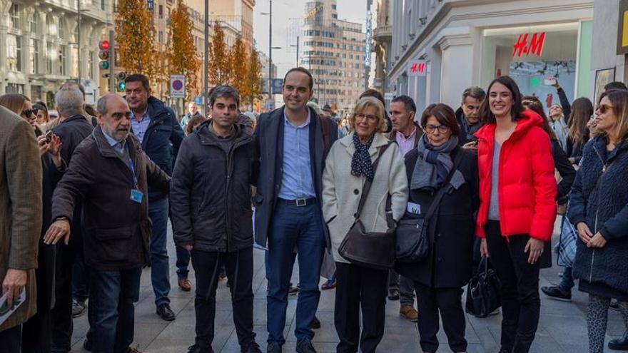 """Carmena defiende Madrid Central como un """"paso necesario"""" para la salud"""