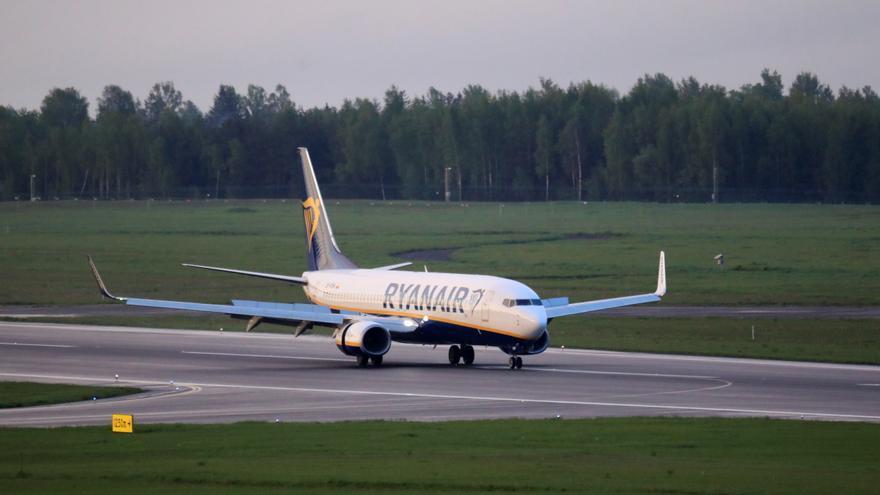La OACI investigará el desvío y aterrizaje de avión de Ryanair en Bielorrusia