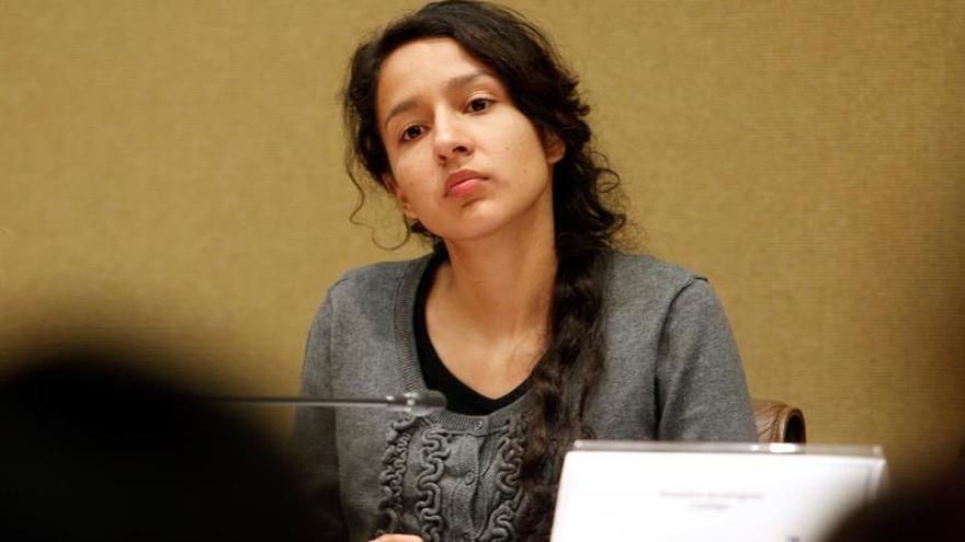 """La hija de Berta Cáceres inicia una gira por Europa para pedir """"justicia y verdad"""""""