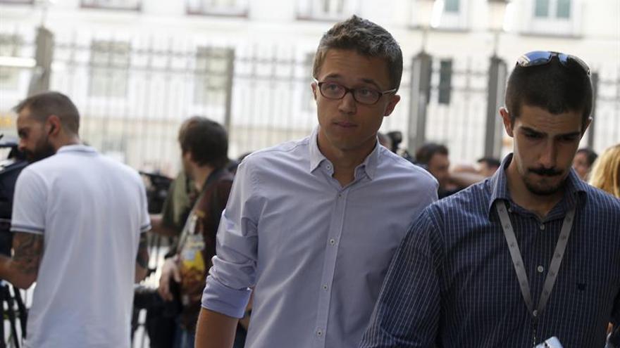 Errejón pide a Sánchez que busque la única alternativa viable con Podemos