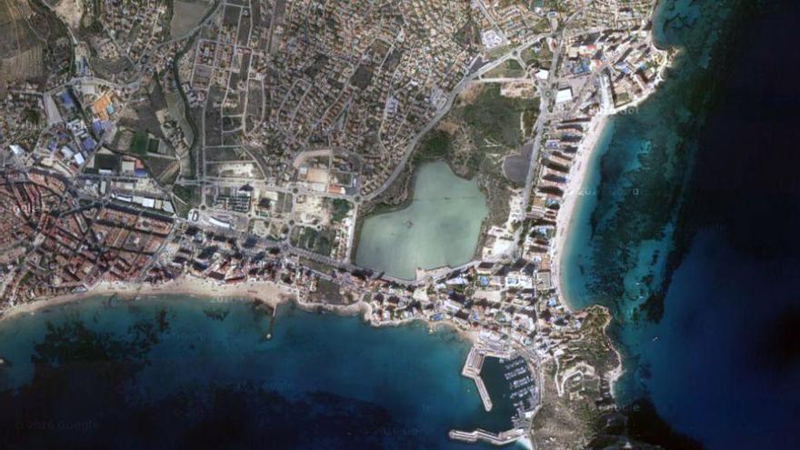 Vista aérea de Calp, Alicante