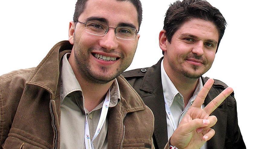 Joaquín Cuenca y Eduardo Manchón, cofundadores de Panoramio