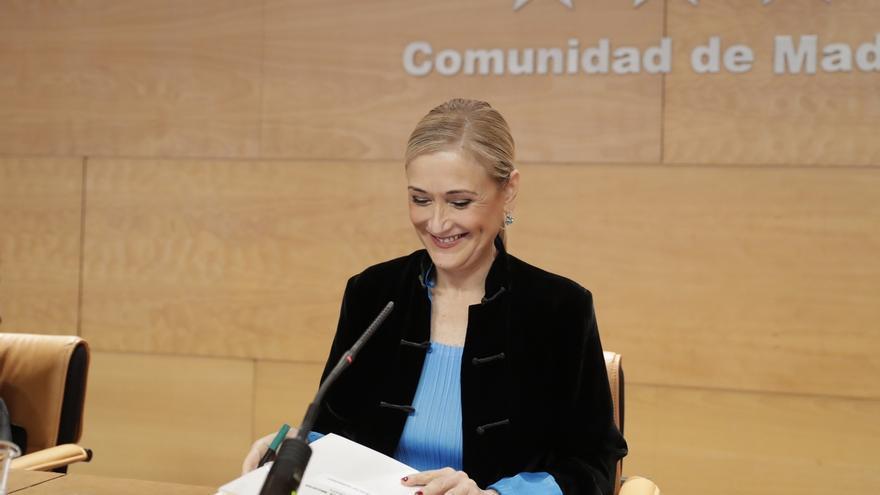 """Cifuentes asegura que no habrá """"ni un solo recorte en servicios esenciales"""" en los presupuestos de Madrid de 2017"""