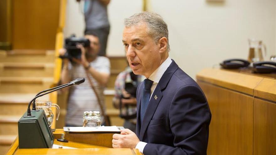 "Urkullu insta a partidos a ponerse ""manos a la obra"" para formar Gobierno"
