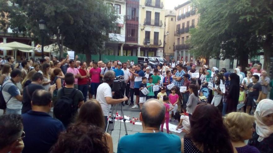 Concentración en Toledo / Alfredo Díaz Cardiel
