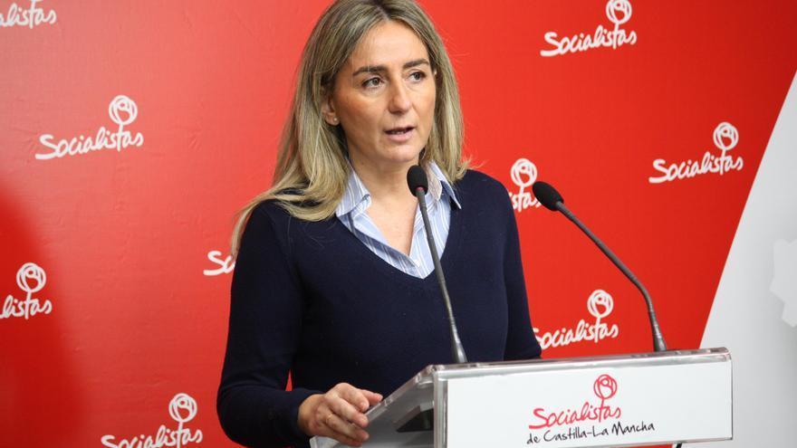 Milagros Tolón, portavoz de Empleo del PSOE en las Cortes de Castilla-La Mancha