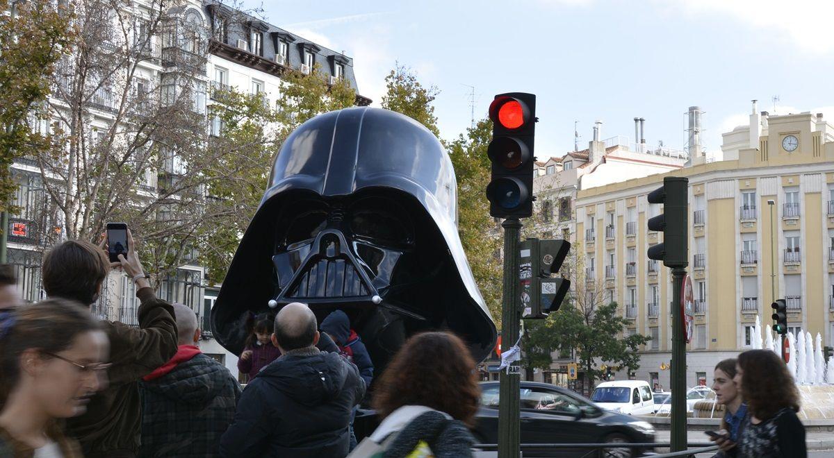 Darth Vader, en la mediana | DAVID PEÑA
