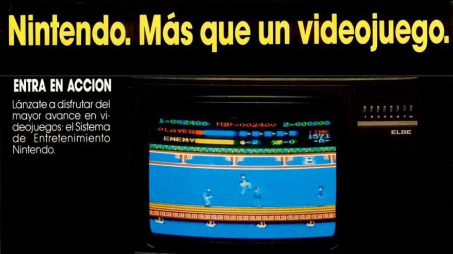Anuncio de El Corte Inglés en noviembre de 1988 la revista MicroHobby con el título 'asian version' en los juegos
