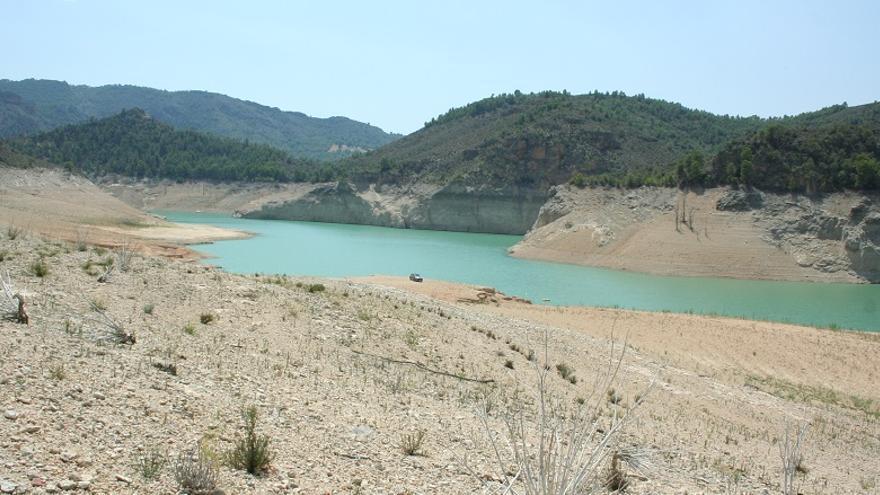 El pantano de la Fuensanta se encuentra, en estos momentos, al 8 por ciento de su capacidad.