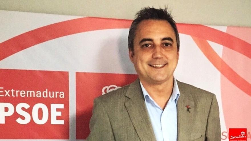 Juan Pedro Moreno Carrasco, candidato del PSOE a la alcaldía de Coria