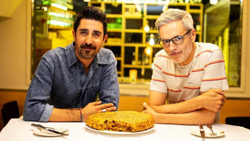 Álex Ubago y Mikel López Iturriaga en 'Banana Split'