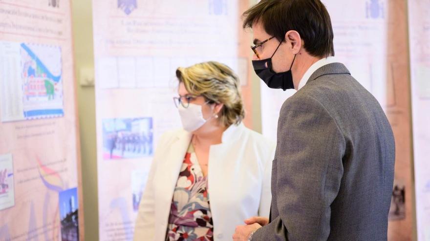 El secretario de Estado para la UE, Juan González-Barba,  y la secretaria de Estado para la UE de Rumanía, Iulia Matei.