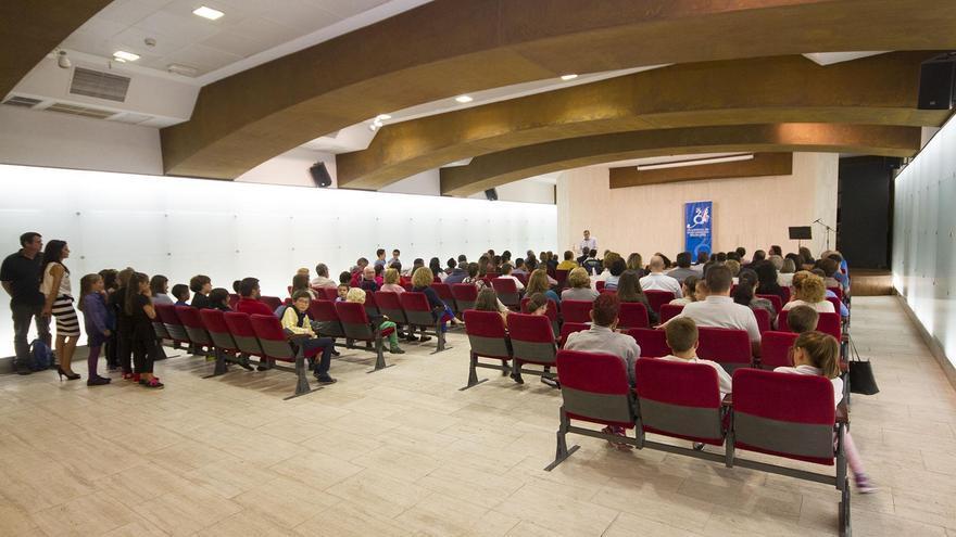 Acto de apertura del curso 2016/2017 de la Academia de Instrumentos Musicales CajaCanarias, entidad creada en 1978.