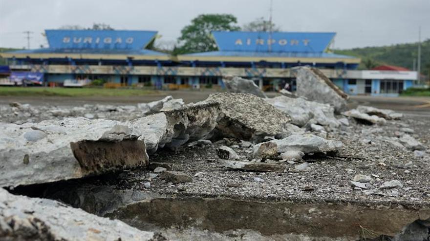 Un terremoto de magnitud 6,5 sacude la región central de Filipinas