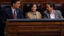 """Pablo Iglesias confía en que """"sea positivo el trabajo"""" del PSOE y Unidas Podemos sobre la publicación del historial de 'Billy el Niño'"""
