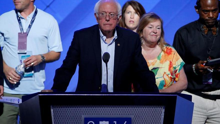 El calor de Filadelfia y el de los seguidores de Sanders