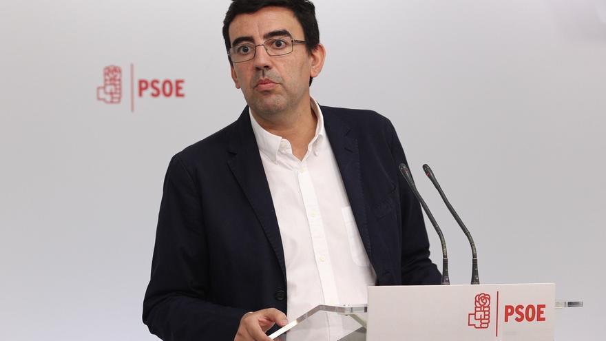"""Portavoz de la gestora del PSOE justifica la multa a los 'díscolos' por su ruptura """"flagrante"""" de la disciplina de voto"""