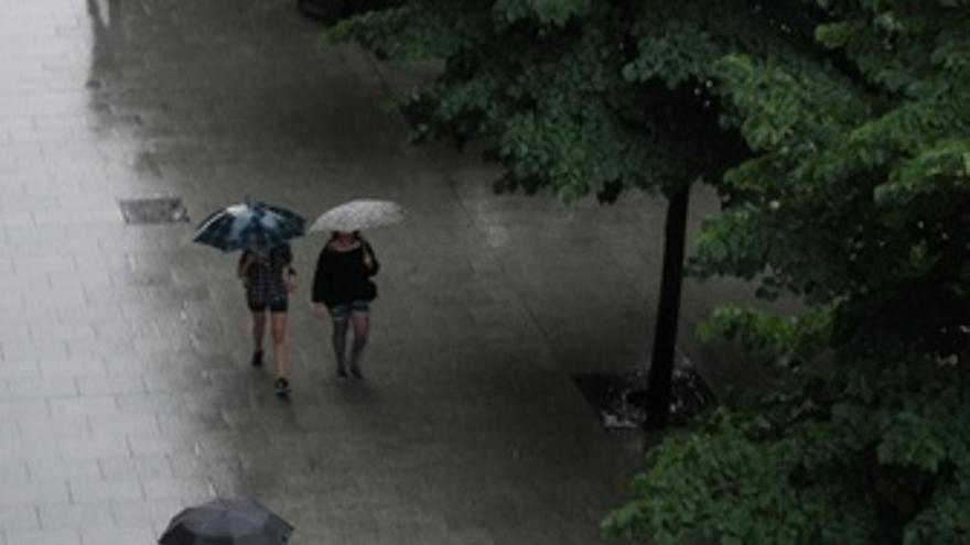 Lluvia En Zaragoza