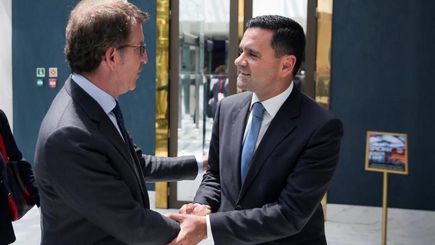 Feijóo aboga por extender las relaciones económicas con todo Portugal