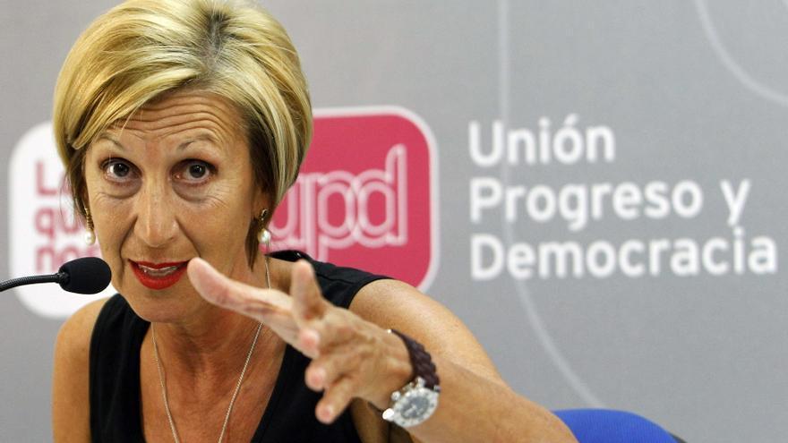 UPyD ve débil a Rajoy por escudarse en otras fuerzas para negar el Pacto Fiscal